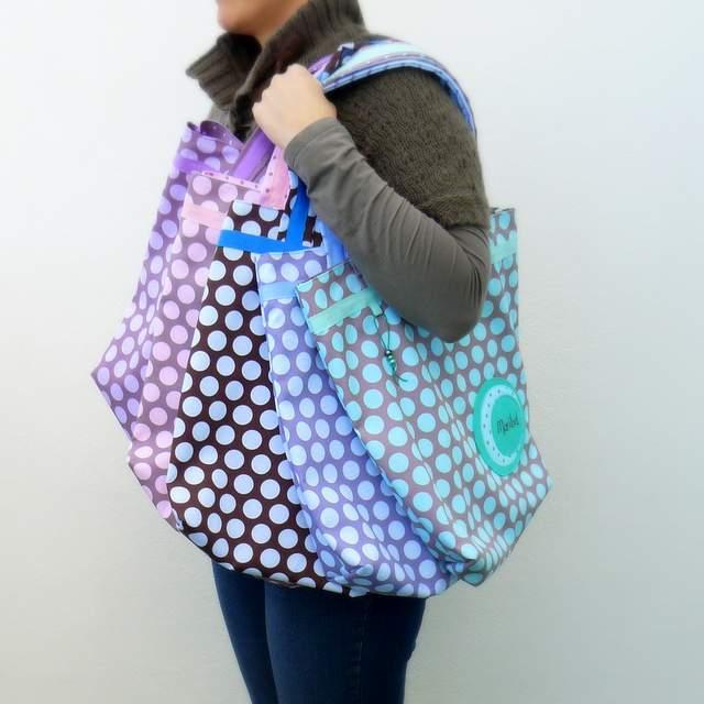 bolso para mujer dos asas personalizado artesanal