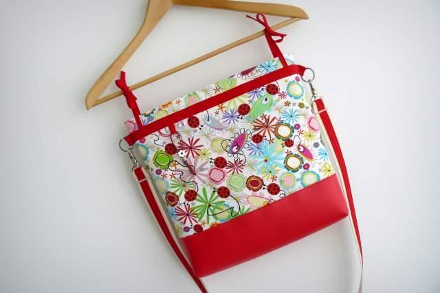 bolso para sillita de paseo infantil auxiliar plus spring rojo-003