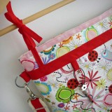 bolso para sillita de paseo infantil auxiliar plus spring rojo-004