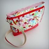 bolso para sillita de paseo infantil auxiliar plus spring rojo-005