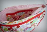 bolso para sillita de paseo infantil auxiliar plus spring rojo-006