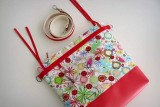 bolso para sillita de paseo infantil auxiliar plus spring rojo-007