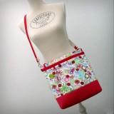bolso para sillita de paseo infantil auxiliar plus spring rojo