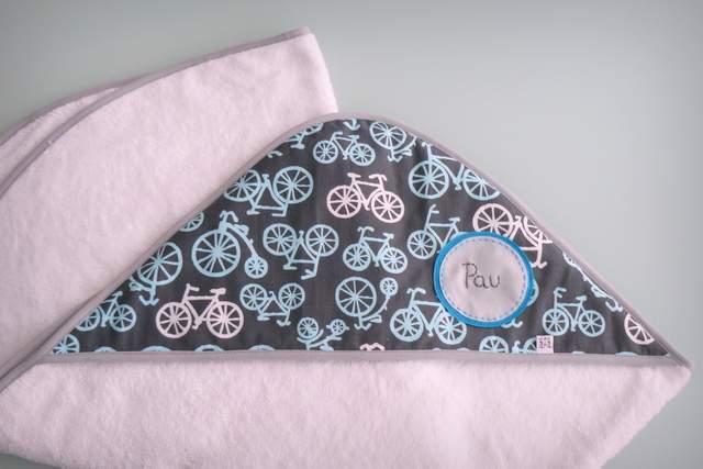 capa ducha bebe artesanal personalizada 003