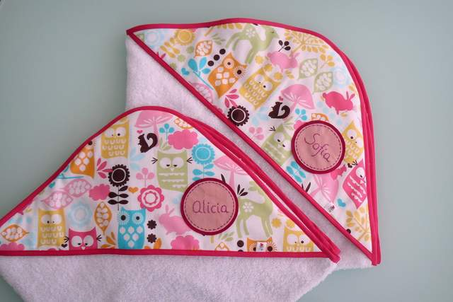 capa ducha bebe artesanal personalizada 004