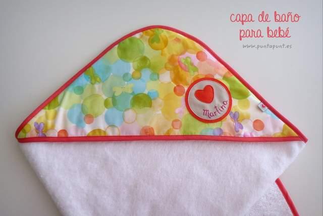capa toalla infantil personalizada punt a punt