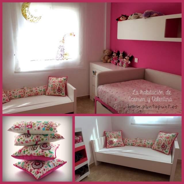 cojin y almohada personalizada para habitación infantil artesanal 005