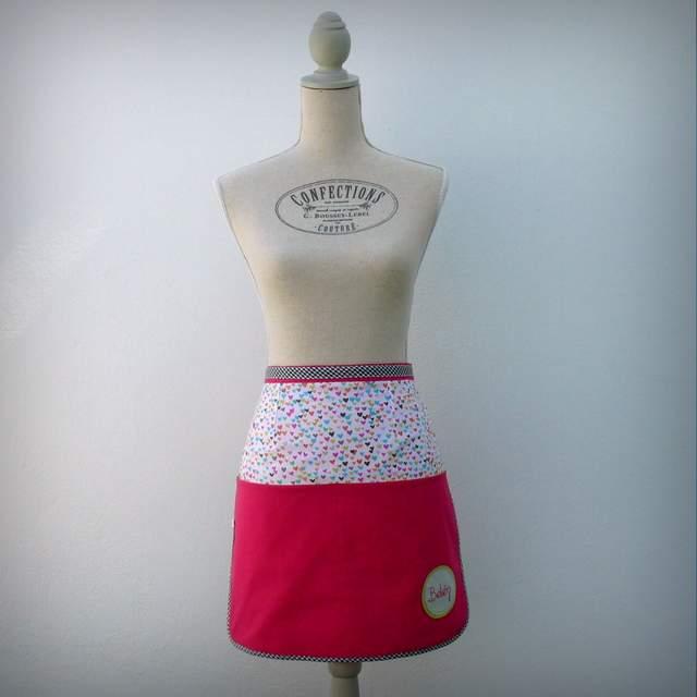 delantal de cintura para mujer personalizado artesanal-001