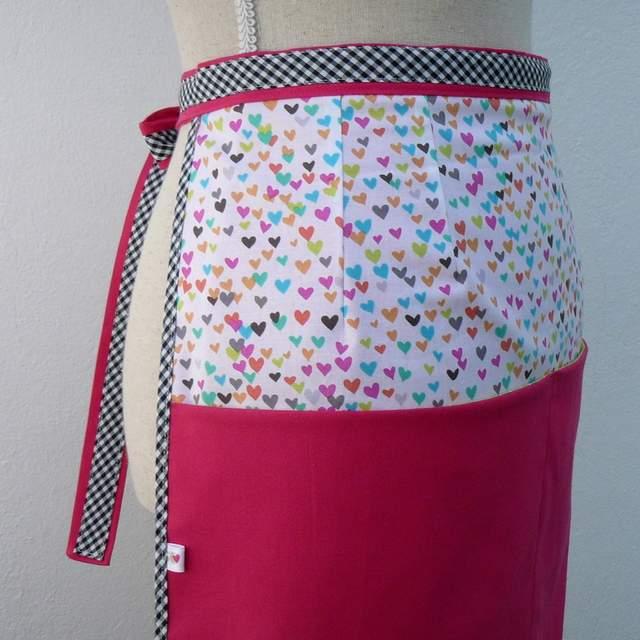 delantal de cintura para mujer personalizado artesanal-004