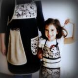 delantal infantil artesanal personalizado 001