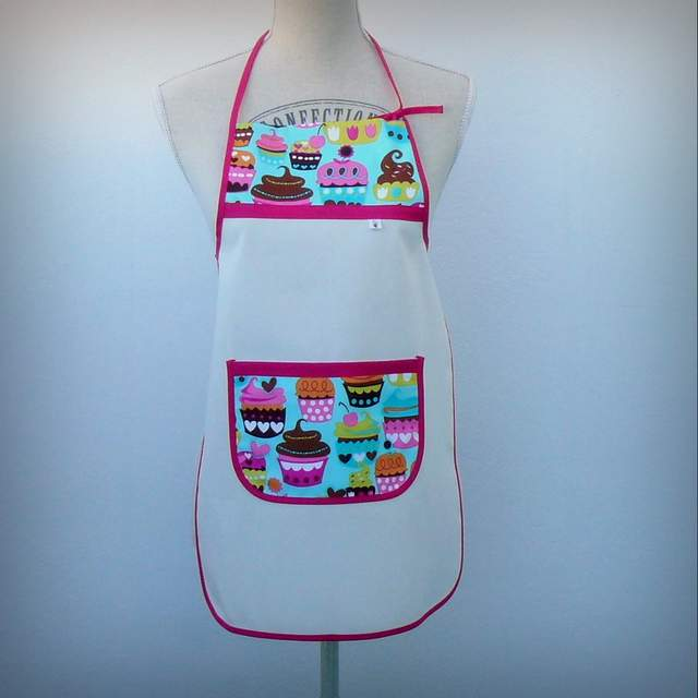 delantal infantil artesanal personalizado 004