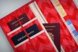 funda organizador para documentacion de viaje personalizada