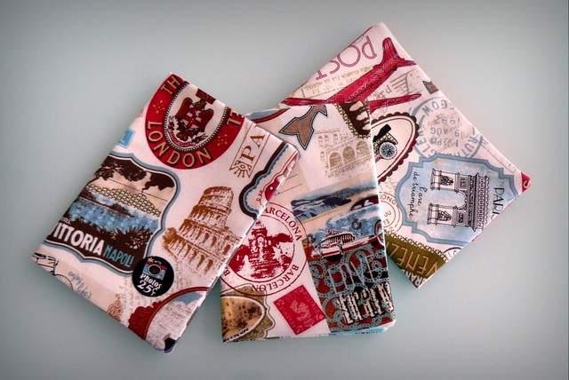 funda para pasaporte personalizada artesanal