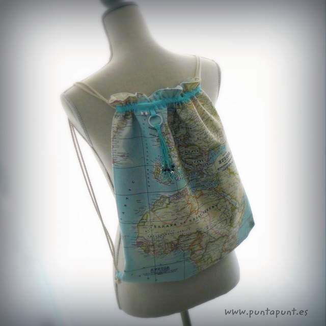 mochila para mujer artesanal personalizada molona