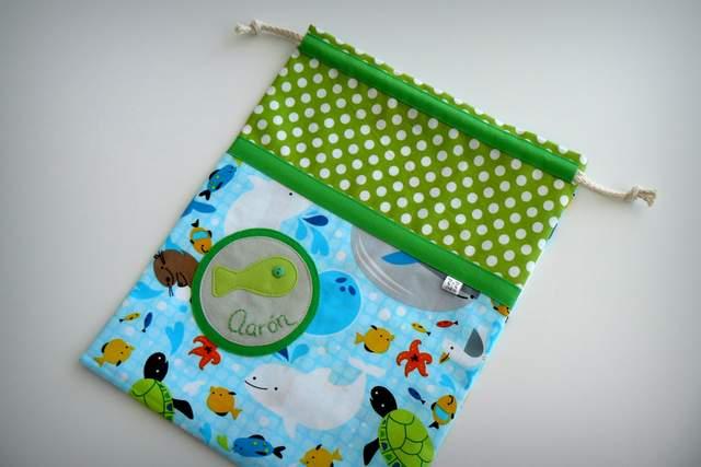 saco infantil artesanal sencillo personalizado 003