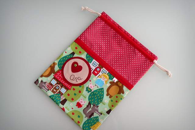 saco infantil artesanal sencillo personalizado 006