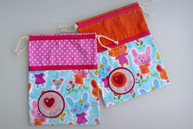 saco infantil artesanal sencillo personalizado 009