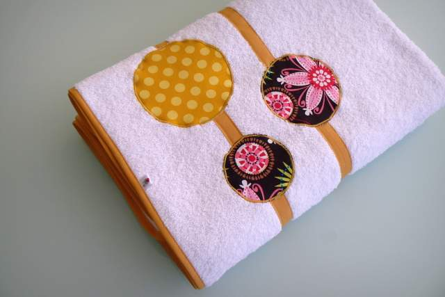 set bolso mujer y toalla playa personalizado artesanal-001