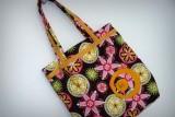 set bolso mujer y toalla playa personalizado artesanal