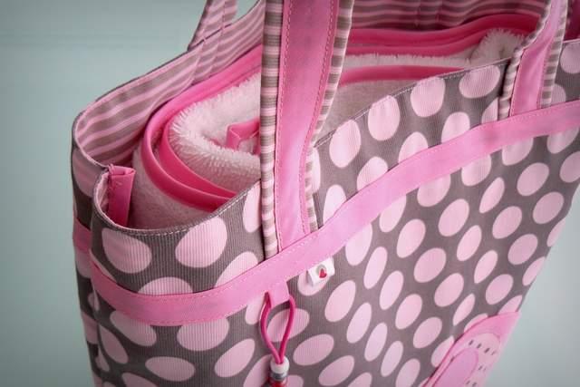 set de bolso y toalla para chica personalizado artesanal-003