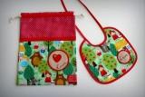 set merienda infantil bebe artesanal personalizado 002