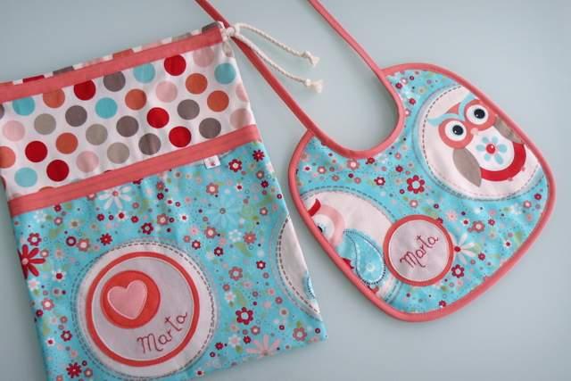 set merienda infantil bebe artesanal personalizado 003
