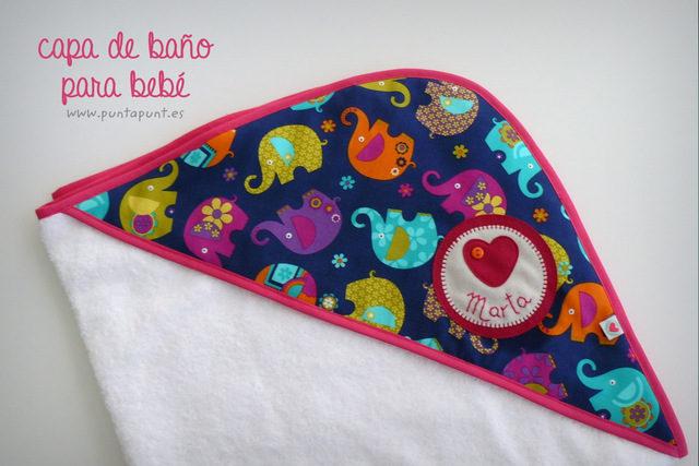 Capa de baño para bebé – personalizada