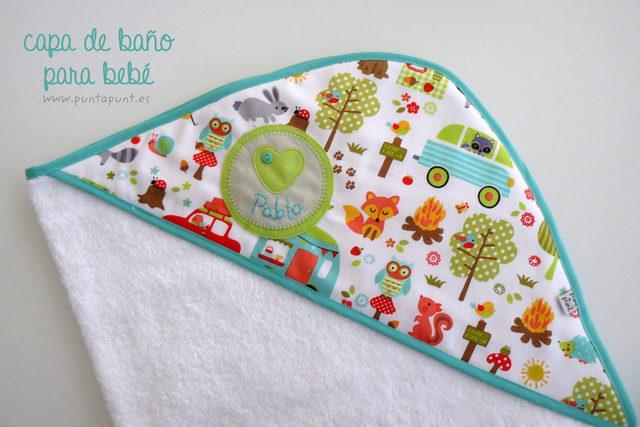 capa de baño bebé