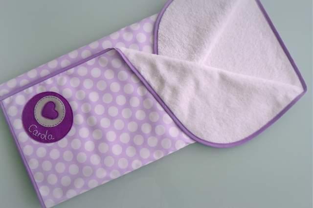 arrullo para bebe personalizado de algodon y rizo punt a punt