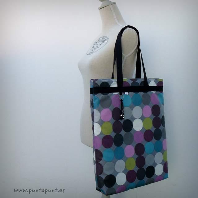 bolso costurero para labores personalizado artesanal