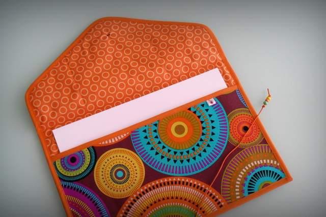 bolso y carpeta a juego personalizado artesanal punt a punt-001