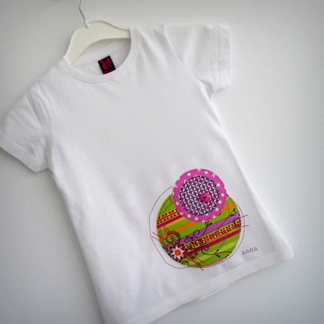 camiseta con retales personalizada artesanal punt a punt-004