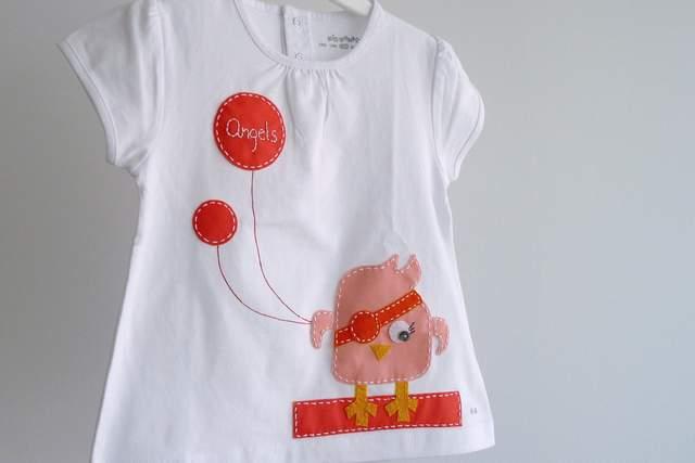 camiseta personalizada artesanal bordada a mano-006