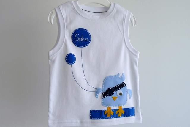 camiseta personalizada artesanal bordada a mano-007