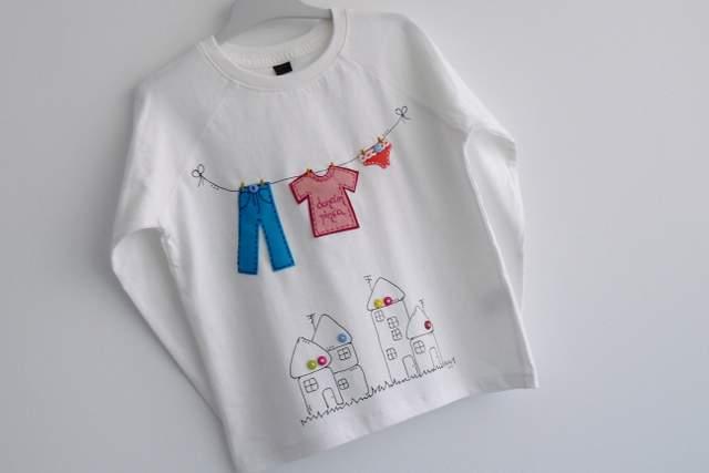 camiseta personalizada artesanal dame pinza punt a punt