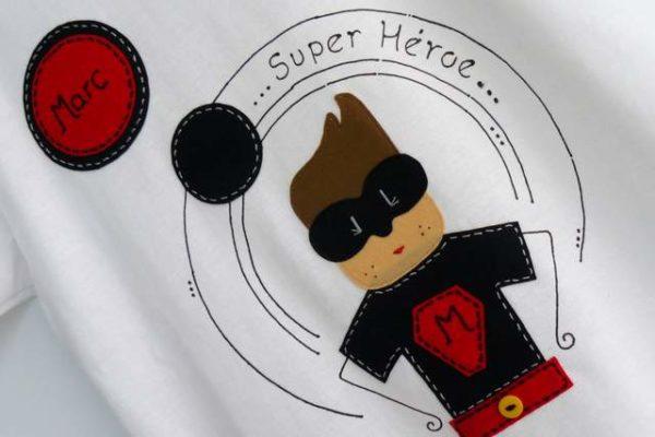 Camiseta «Super héroe»