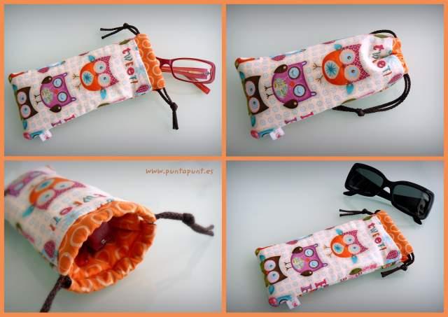 funda acolchada para gafas de sol o de vista artesanal-001