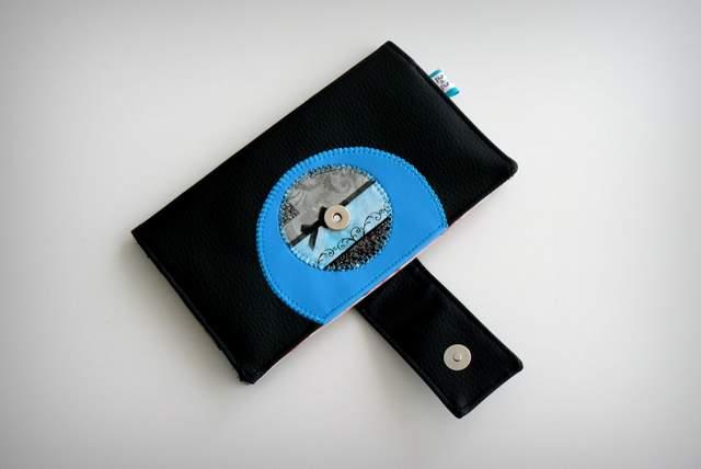 set cartera billetero y monedero neceser personalizado artesanal-007