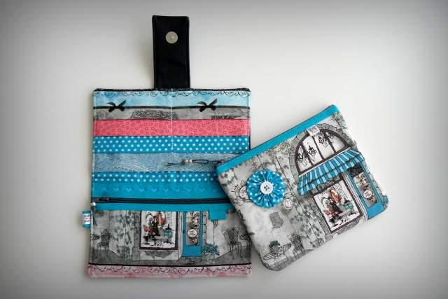set cartera billetero y monedero neceser personalizado artesanal-010