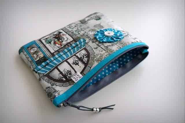 set cartera billetero y monedero neceser personalizado artesanal-012
