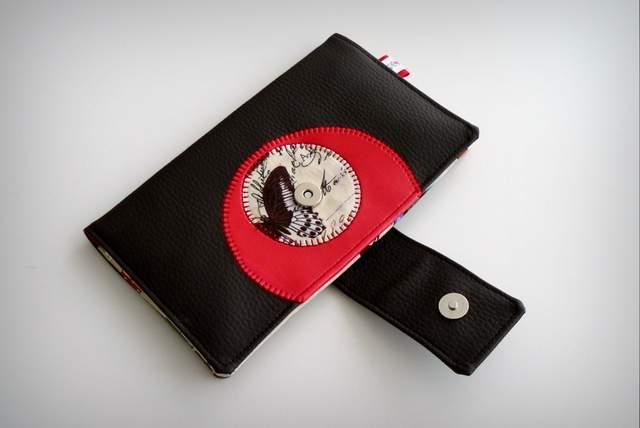 set cartera billetero y monedero neceser personalizado artesanal