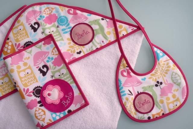 set de bebe personalizado varias piezas artesanal punt a punt-001