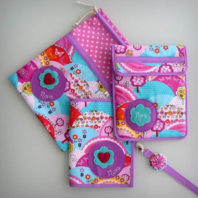 set de bebe personalizado varias piezas artesanal punt a punt-003