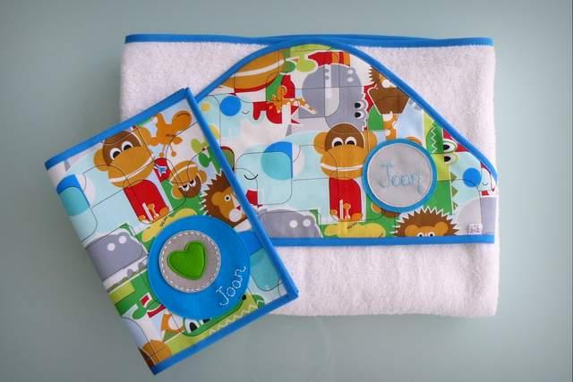 set de bebe personalizado varias piezas artesanal punt a punt-012