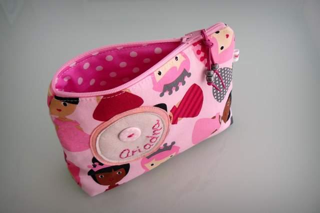 set escolar personalizado de saquito servilleta y neceser artesanal-002