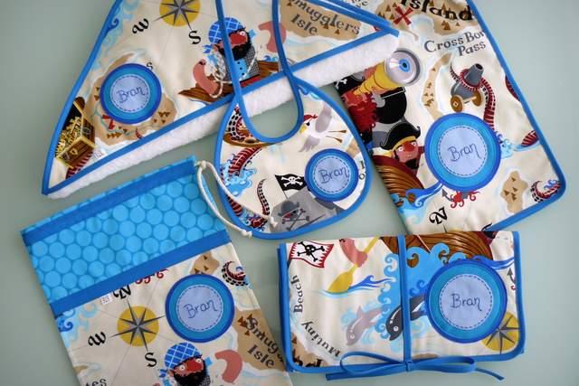 set para bebe complementos personalizados artesanal-006