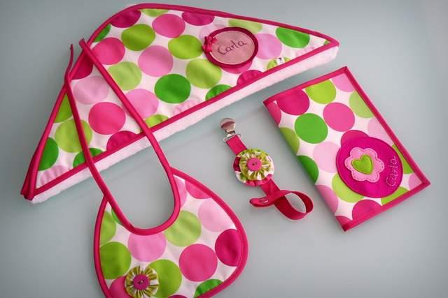 set para bebe con capa de bano ducha personalizado artesanal-002