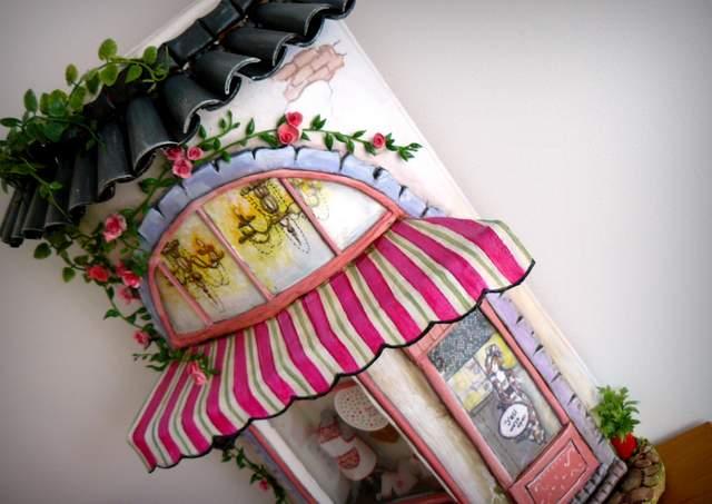 teja decorada personalizada artesanal punt a punt-002