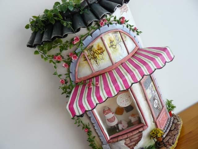 teja decorada personalizada artesanal punt a punt