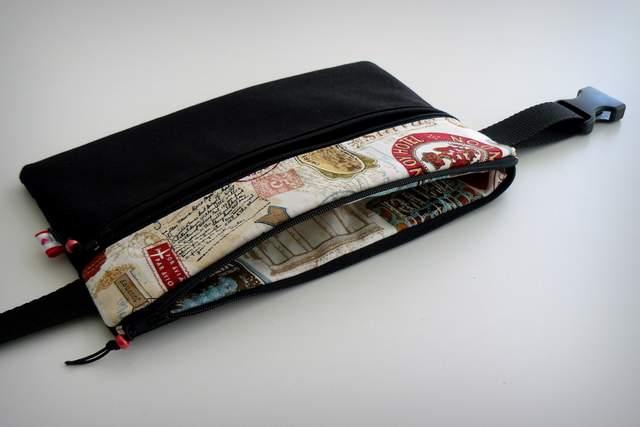 bolso cintura para documentacion de viaje personalizado punt a punt -002